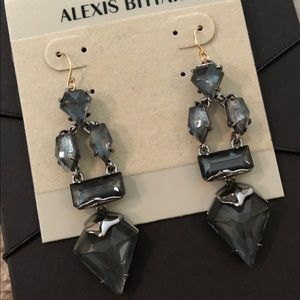 NWT Alexis Bittar Crystal Drop Chandelier Earrings
